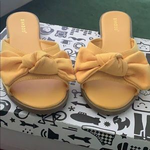 Yellow Bowed Slide